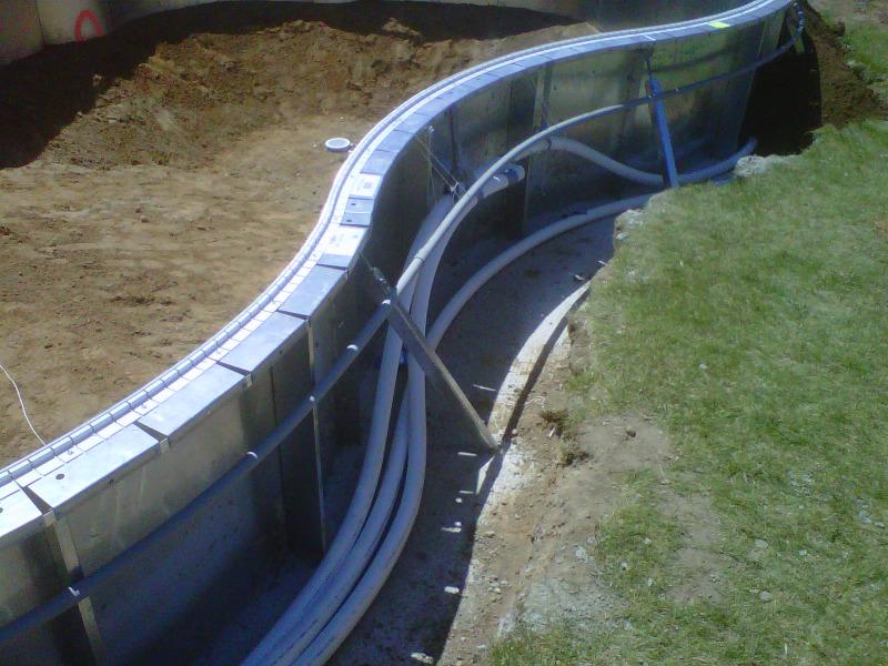 Gallery macomb county inground pools fiberglass vinyl - Cheap inground swimming pool liners ...
