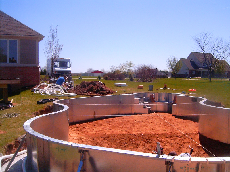 Macomb county inground pools fiberglass vinyl liner and - Cheap inground swimming pool liners ...
