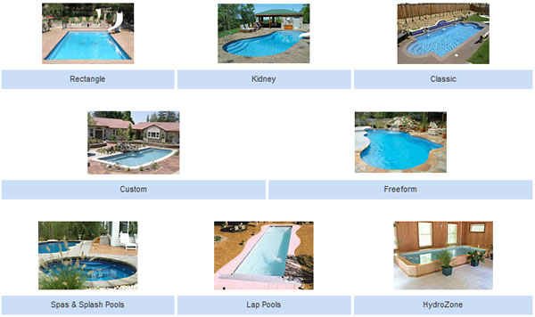 Fiberglass Inground Pools in Center Line